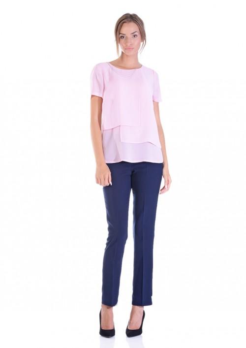 LINEA COLLECTION Блуза од жоржет, во пастелни бои