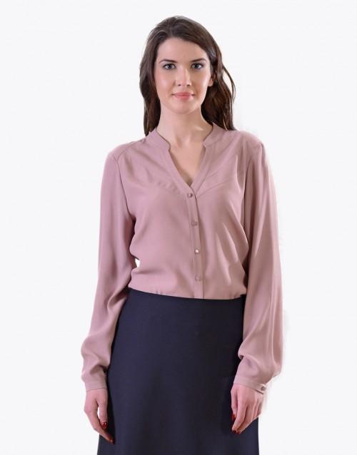 LINEA COLLECTION Елегантна блуза  со долг ракав