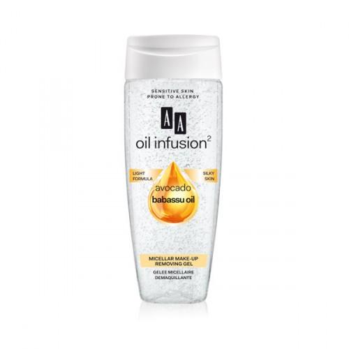 AA Oil Infusion мицеларен гел за отстранување на шминка 200 мл