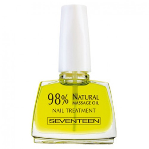 SEVENTEEN 98 % Natural Massage Oil Nail Treatment - основа за нега на нокти