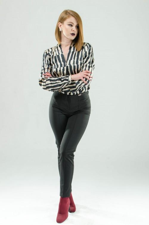 ASTIBO Црно-бела кошула
