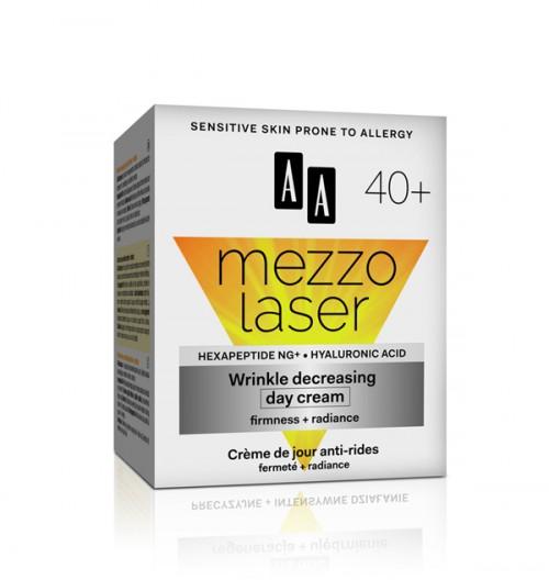 AA MEZZO LASER + 40 Дневен крем за намалување на брчки 50 мл