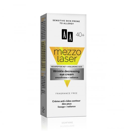 AA MEZZO LASER + 40 крем за околу очи за намалување на брчки 15 мл