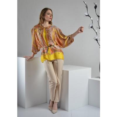 ASTIBO - Туника во тренди жолта боја