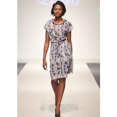 LINEA COLLECTION Лелеав фустан во деним штампа