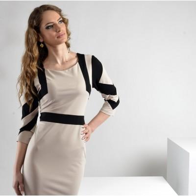 ASTIBO - елегантен фустан до колена