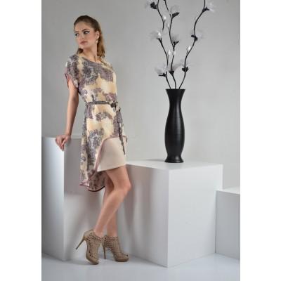 ASTIBO -  фустан со интересен асиметричен детал