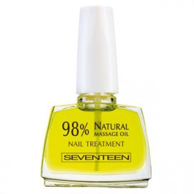 SEVENTEEN 98 % Natural Massage Oil Nail Treatment - основа за нега на нокти