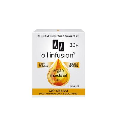 AA Oil Infusion +30 дневна крема за мулти хидратација и измазнување 50 мл