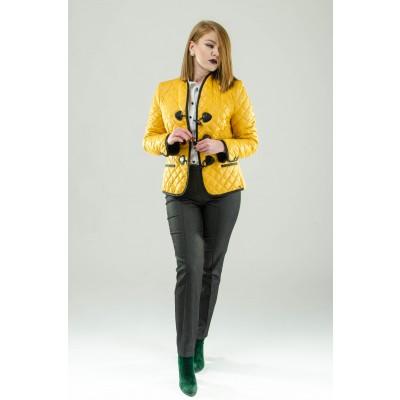 ASTIBO Жолта кратка јакна