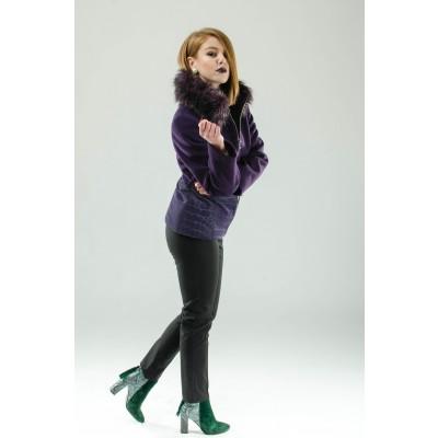 ASTIBO Виолетова кратка јакна